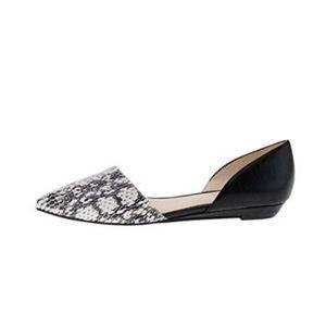 Nine West Shoes - Nine West Supine Flats-Black/Python, Size 10, NEW!